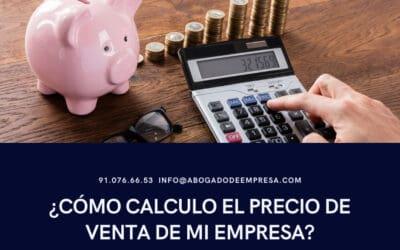 ¿Cómo calculo el precio de venta de mi empresa?