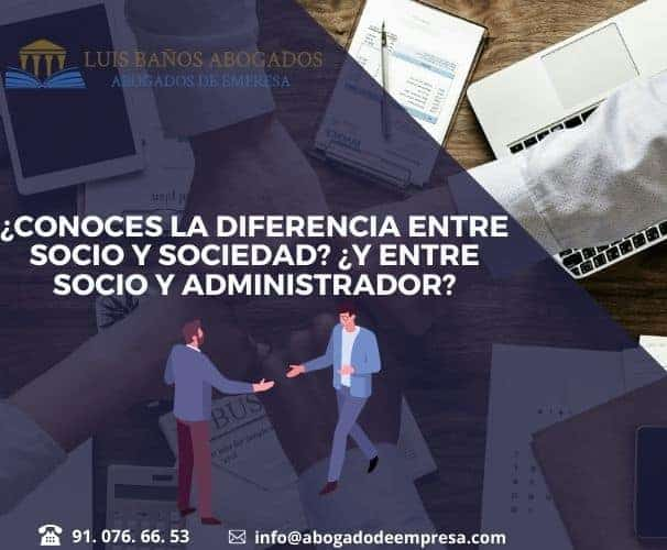 Diferencias entre socio y sociedad