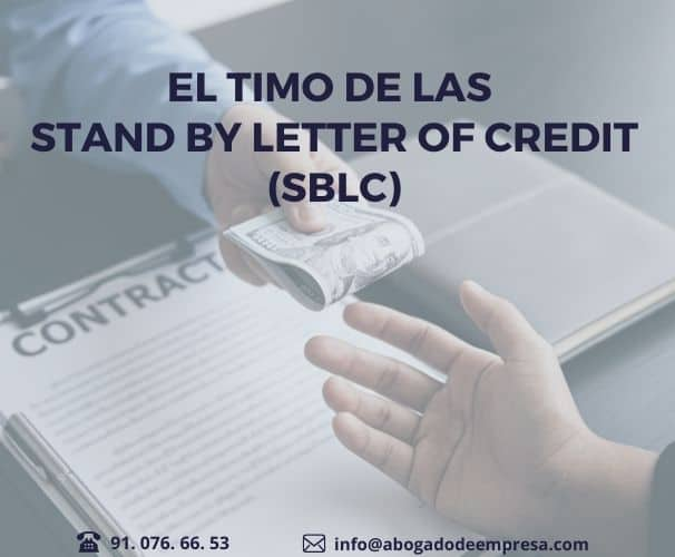 El timo de las Stand By Letter of Credit